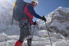 Nelson Cardona conquistó el Monte Everest, la cumbre del coraje