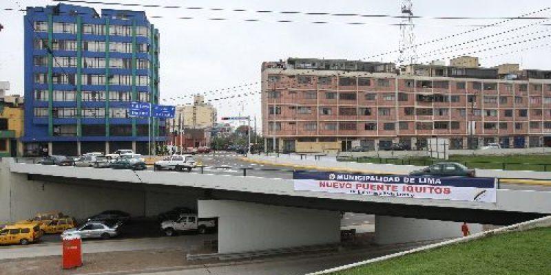 15 puentes en Lima no permiten acceso a personas con discapacidad, según Conadis