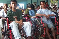 Discapacitados de iquitos exigen cumplimiento de decreto legislativo sobre empleo y discapacidad