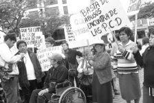 Un grupo de personas con discapacidad denuncia a la Municipalidad de Chimbote