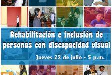 """Invitación a Conferencia: A realizarse en la Sala para Invidentes """"Delfina Otero Villarán"""", de la Biblioteca Nacional del Perú"""