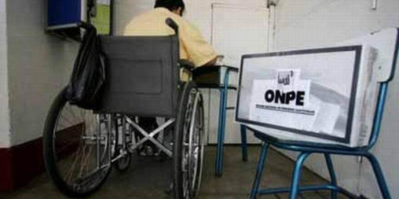 Ya Comenzó el empadronamiento de discapacitados para las elecciones de octubre