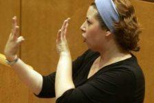Concurso de oratoria en lenguaje de señas