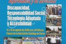 En agosto se llevará a cabo la 3ra Feria Informativa y de Servicios sobre Discapacidad – 2010