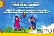 En México abren concurso de dibujo para niños con discapacidad