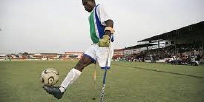 Fútbol para personas amputadas