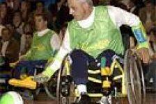 Futbol adaptado para silla de ruedas