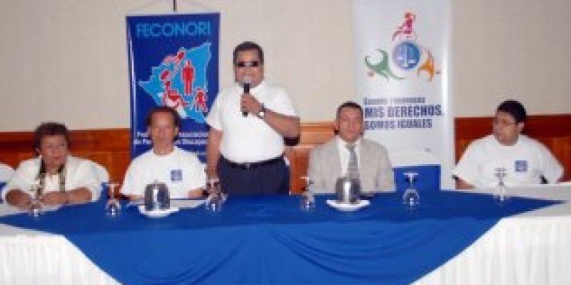 600 mil discapacitados de Nicaragua inician campaña de sensibilización