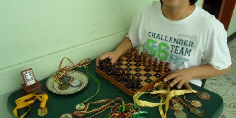 Jaque mate a la discapacidad – Juan Evangelista Álvarez