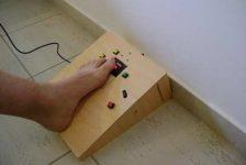 Como adaptar el mouse para usarlo con el pie