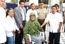 Piura recibe donación de sillas de ruedas