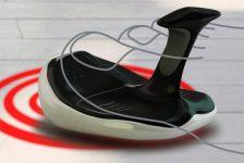 Mouse especialmente diseñado para pie