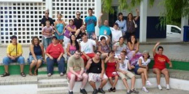 Jóvenes con discapacidad de Almería conviven durante una semana fuera del entorno familiar