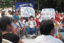 """A un mes de elecciones Personas con discapacidad exhortan a postulantes: """"No somos de segunda categoría"""" Candidatos, no los ignoren"""