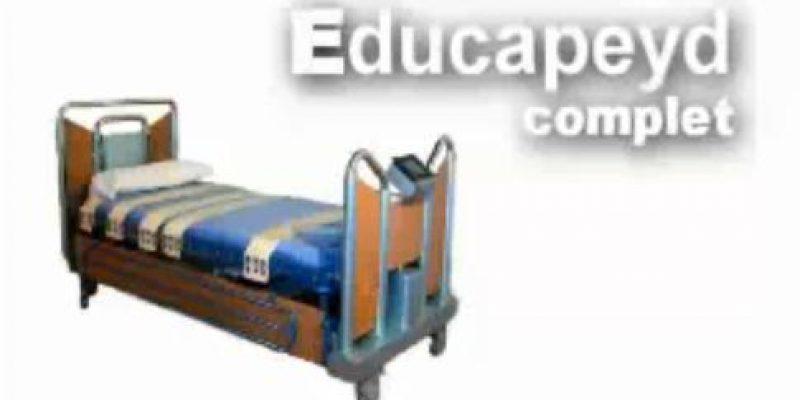 Educapeyd Complet, ingeniosa cama para enfermos y personas con discapacidad