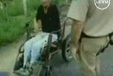 Jóven Brasileño fue arrestado por conducir a alta velocidad,  su silla de ruedas