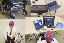 Silla de ruedas con brazo robotico controlada por las ondas cerebrales