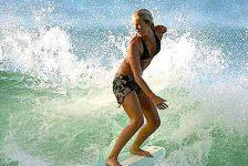 Bethany Hamilton surfeará a nivel profesional tras haber sufrido ataque de tiburón en el 2003