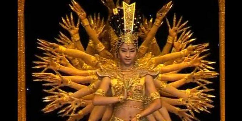 Grupo de arte de discapacitados de China – Danza Oriental de las mil manos