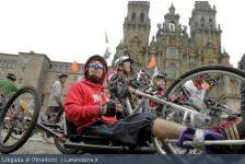 España – 89 personas con discapacidad concluyen el Camino en bicicletas adaptadas