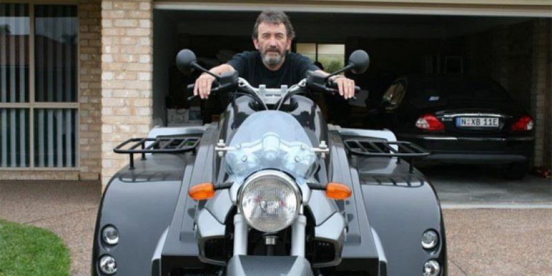 La Conquest – Motocicleta diseñada para ser manejada desde la silla de ruedas