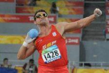 Deportistas paraolímpicos participan en el XIX Campeonato de España de Atletismo de Invierno