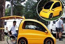 Kenguro car – Vehículo diseñado para silla de ruedas