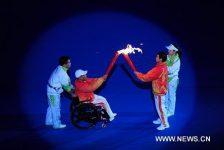 Juegos Paraolínpicos de Asia hicieron su debut con emotiva ceremonia