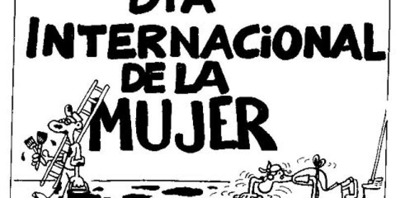 Hoy 8 de marzo, se conmemora el día internacional de la mujer