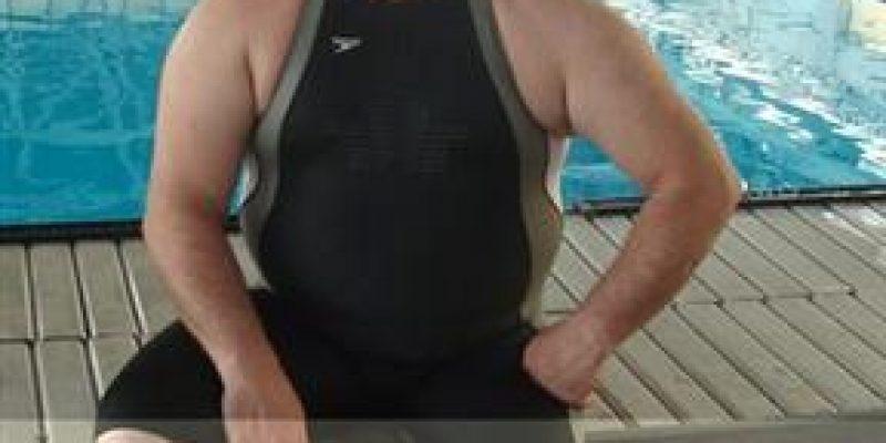 Nadador argentino amputado desafiará las aguas del Paraná
