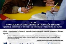 """Taller """"Adaptaciones curriculares en la inclusión escolar"""" organiza el centro Ann Sullivan Perú"""
