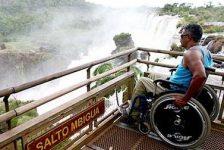 Discapacidad y turismo, Cataratas de Iguazú