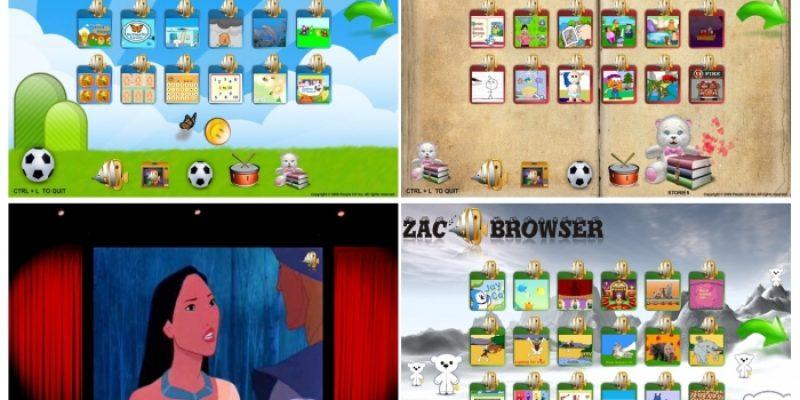 Programas accesibles, software libre Zac Bowser: naveador para niños autistas