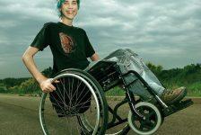 Discapacidad y superación Albert Casals el mundo en silla de ruedas y felíz