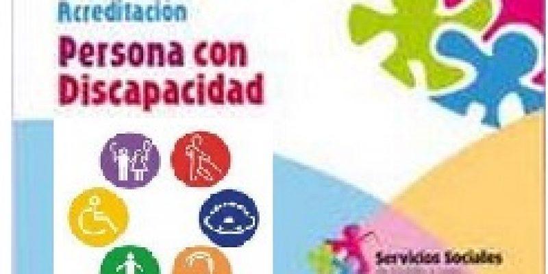 Tarjeta de acreditación de discapacidad España
