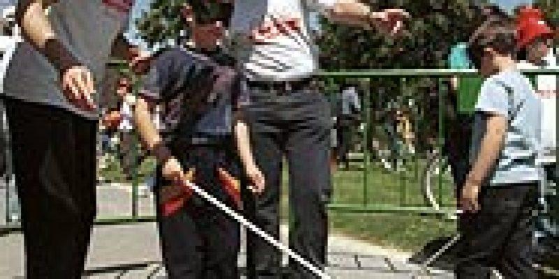 Discapacidad visual y deportes iniciación al atletismo