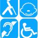 Tarjeta discapacidad Extremadura-España