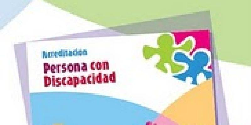Tarjeta de acreditación de discapacidad Castilla y León-España
