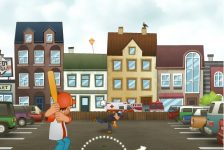 Videojuegos accesibles Beisbol callejero