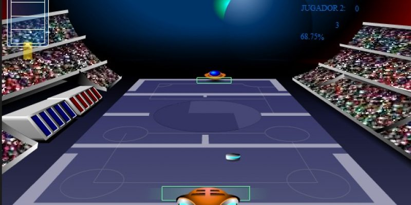 Videojuegos accesibles Tenis Galáctico