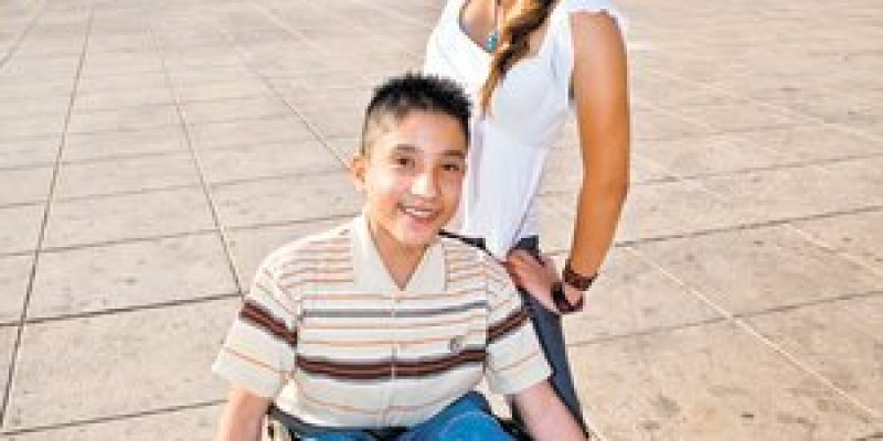Baile en silla de ruedas Historia de Ricardo y Stefany
