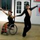 Baile en silla de ruedas Salsa