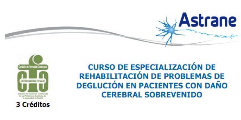 Daño cerebral sobrevenido curso especilización en rehabilitación Madrid España