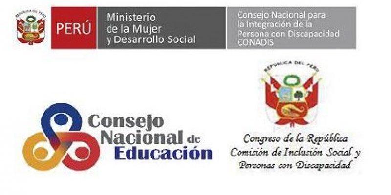 Inclusión Educativa discapacidad Perú presentación Boletín oficial