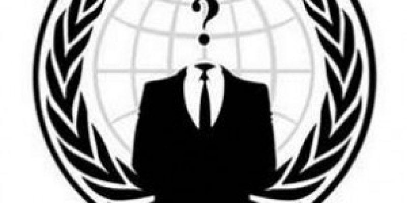 Anonymous protesta contra ley Sopa y cierre de Megaupload
