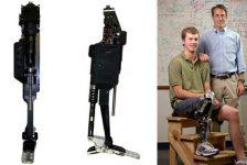 Nueva prótesis biónica de pierna y rodilla