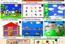 Recursos educativos NEE software aprendizaje de palabras La librería