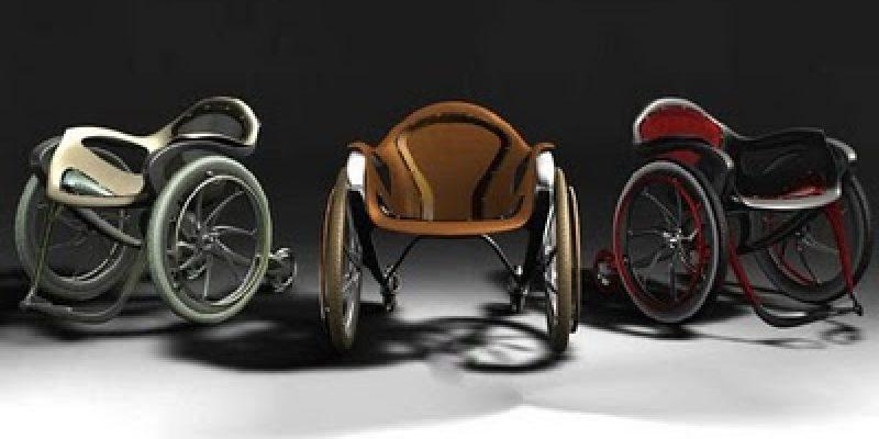 Silla de ruedas Sidewinder moderna y personalizable