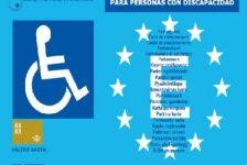 Tarjeta estacionamiento discapacidad España