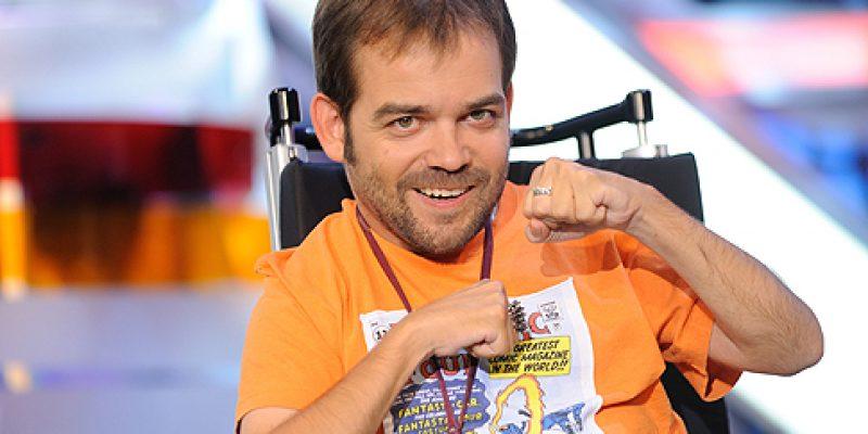 Discapacidad y humor con el Diablo sobre ruedas Toño Tejerina